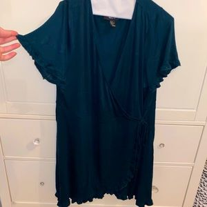 Forever 21 Plus Size Wrap Dress